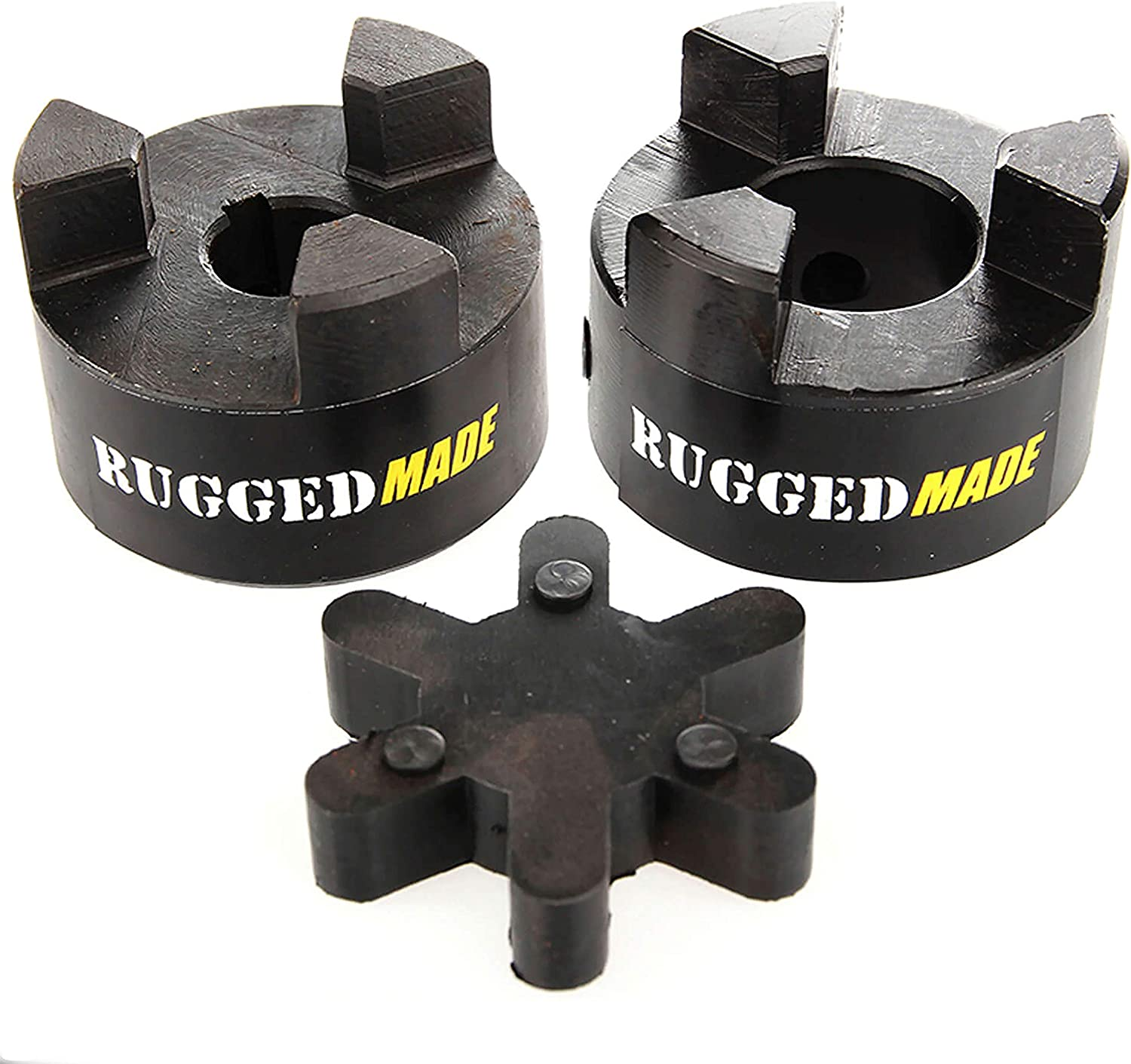 RuggedMade Hydraulic Log Splitter Build Kit 16 GPM Pump Engine Mounting Bracket Coupler for 3//4 Engine Shaft