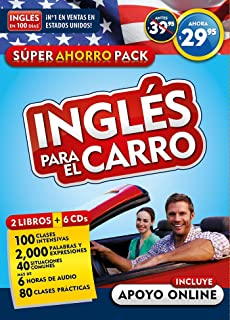 Curso de inglés para el carro (Inglés en 100 días) / English in the Car. Ahorro Audio Pack (Ingles En 100 Dias)