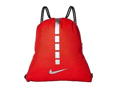Nike Hoops Elite Gymsack 2.0 (University Red/Black/Metallic Cool Grey) Backpack Bags