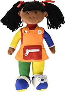 Children's Factory Learn to Dress - African American Girl Teaching Material (CF100-858P)