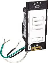 Lutron RRD-W3BRL-WH Standard Switches White
