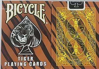 Bicycle Tiger Deck Playing Cards - Tiger Skin Back Design