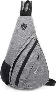 TINYAT Sling Bag Sport Rucksack Chest Bag Travel Casual Crossbody Shoulder Bag for Camping Gym Cycling Biking T509