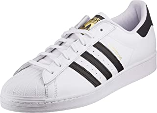 adidas Originals Superstar, Scarpe da Ginnastica Uomo, Ftwr White/Core Black/Ftwr White, 53 1/3 EU