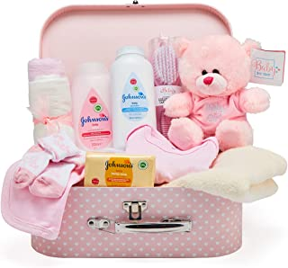Baby Box Shop - Cesta regalo bebé niña para baby shower