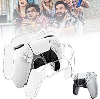 Hard Controller Cover Compatible for PS5 Controller, Handle Protection Sleeve Controller Grips Case for Playstation 5 Cont...