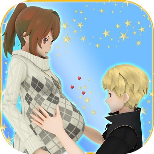 sims de madre de anime embarazada virtual: un juego gratuito de simulación de guardería y cuidado de niños para bebés y madres