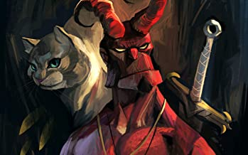 CanvasBY Hellboy Artwork Wall Art Canvas Print