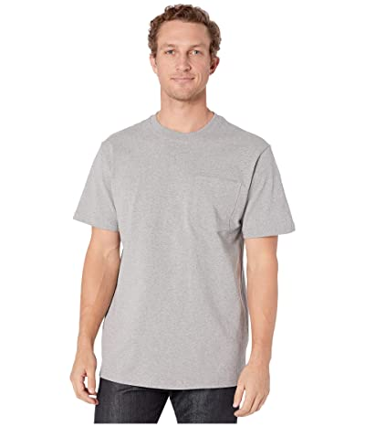 Filson Short Sleeve Outfitter Solid One-Pocket T-Shirt (Gray Heather) Men