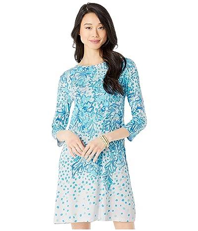 Lilly Pulitzer Ophelia Dress (Resort White Karma Camellia Engineered) Women