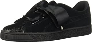 PUMA Womens 366441-02 Suede Heart Bubble
