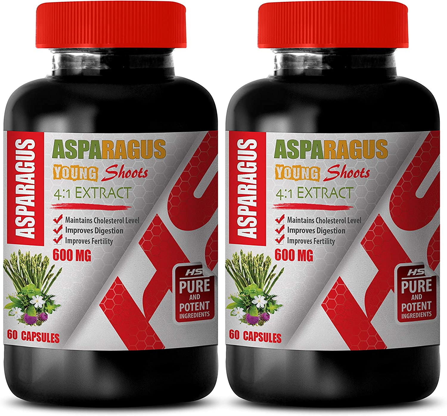 Blood Sale price Pressure Pills for Men Cheap - 4:1 600 Shoots Mg Asparagus Young