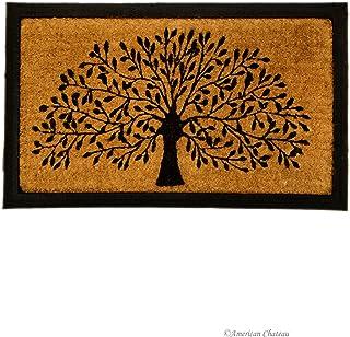 IH CASADECOR Tree Doormat, Brown/Black