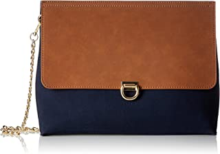 097ea1o050, Women's Shoulder Bag, Blau (Navy), 5x23,5x30,5 cm (B x H T)