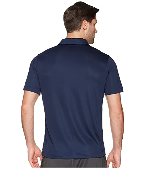 College Sideline blanco negro Coach's marino azul Polo Nike w7O1t5qSO