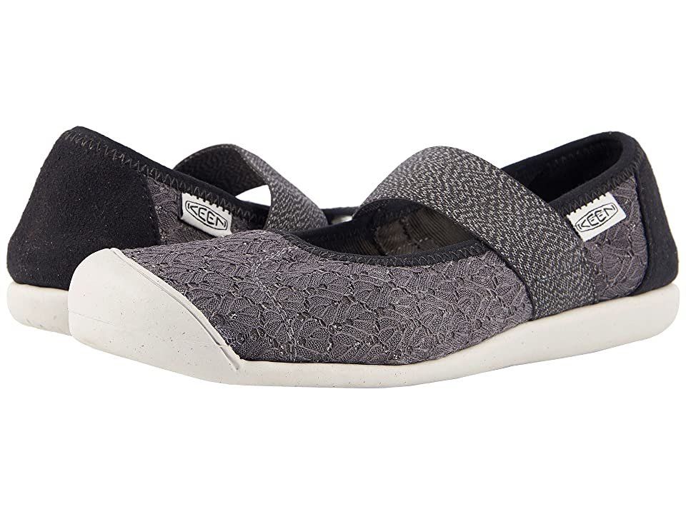Keen Sienna MJ Canvas (Magnet/Black) Women