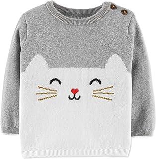 Carter's Baby Girls Cotton Cat Sweater