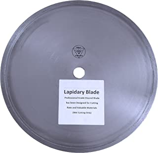14-inch Professional Ultra Thin Diamond Lapidary Blade By 0.047-inch Wide By 1-inch Arbor (Dazuan)