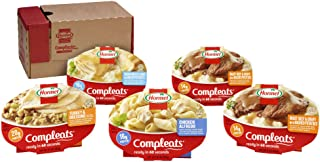 Hormel Compleats - Protein Variety Pack - Microwave Meals - No Refrigeration Needed (Pack of 5)