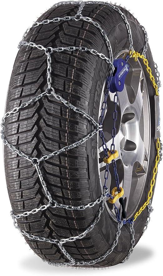 Michelin 92308 Schneekette M1 Extrem Grip 60 Abs Und Esp Kompatibel TÜv Gs Und Önorm 2 Stück Auto