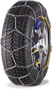 MICHELIN 92308 Snow Chains, M1 Extreme Grip 60, ABS and ESP Compatible, TÜV/GS and ÖNORM, 2 Pieces: image