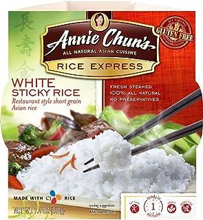 Annie Chun's Sticky White Rice Express, 7.4 Oz