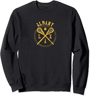 Albany Lacrosse LAX Logo Sweatshirt