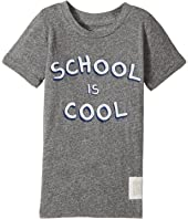The Original Retro Brand Kids - School Is Cool Tri-Blend Short Sleeve Tee (Toddler)