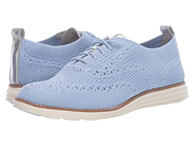 Cole Haan Original Grand Stitchlite Wing Oxford (Chambray Knit) Women