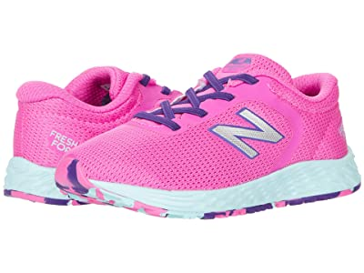 New Balance Kids Arishi v2 Bungee (Infant/Toddler) (Fusion/Hi-Lite NB) Girls Shoes