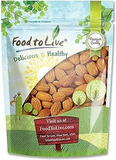 Raw Almonds, 1 Pound – Kosher, Whole, No Shell, Unsalted, Bulk