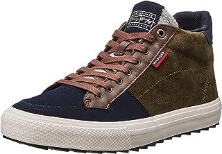 Tommy Hilfiger Herren Core High Winter Suede Mix Sneaker