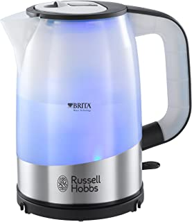 Russell Hobbs Brita Purity Kettle Blue Illumination 1L Capacity 2 Year Warranty