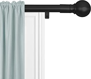 Sponsored Ad - Zenna Home Easy Install Window Rods, 18 to 48 inches, Black