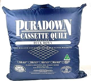 Puradown King 80 Duck Down Cassette, White