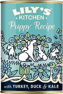 Lily's Kitchen Classic Dinner Comida Húmeda Receta de Pavo y Pato para Cachorros, 6