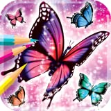 Livre de coloriage papillon