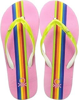 United Colors of Benetton Women's 20p8cffpl553i Flip-Flops