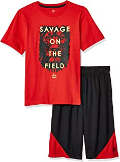 RBX Boys' 2 Piece Performance Top and Short Set