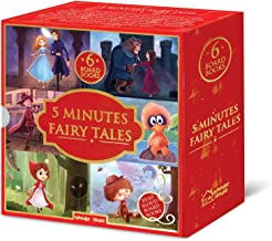 5 Minutes Fairy Tales Bookset: Giftset of 6 Board Books for Children (Abridged and Retold)