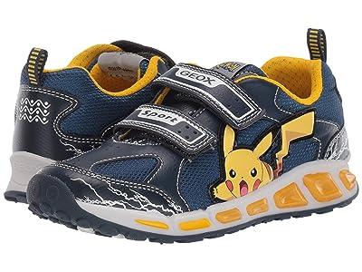 Geox Kids Shuttle 15 Pokemon (Little Kid/Big Kid) (Blue/Yellow) Boy