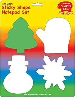 Winter Sticky Notepad Set