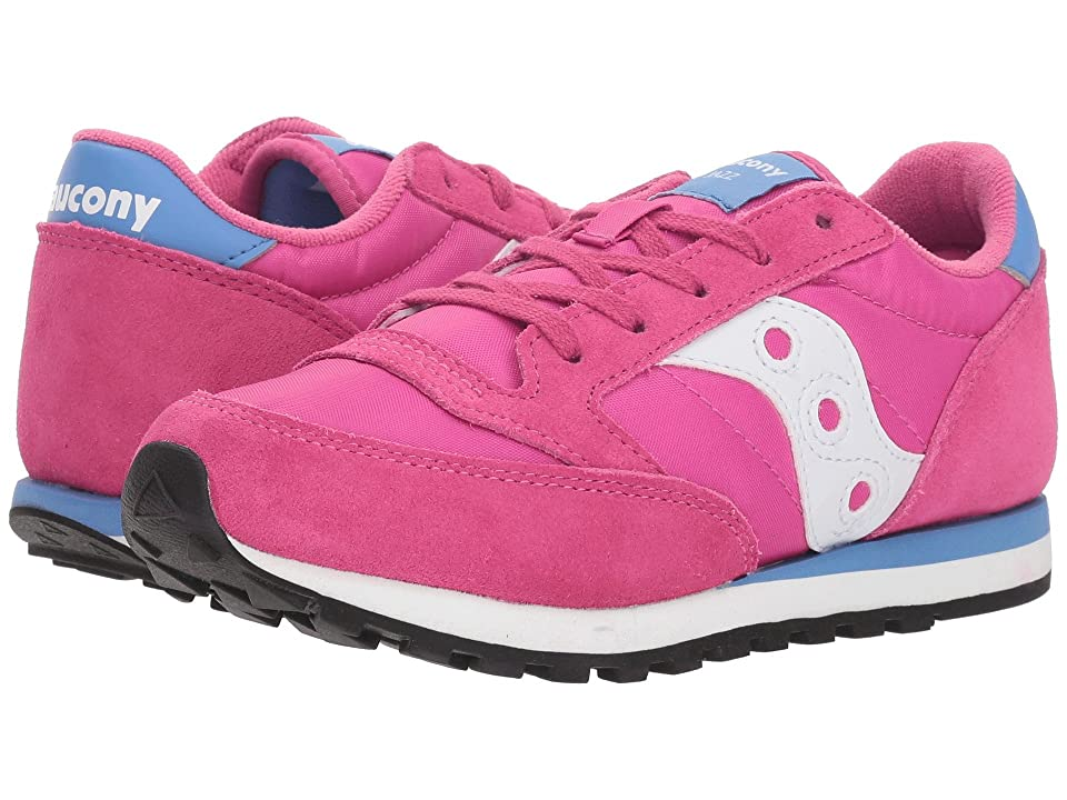 Saucony Kids Jazz Original (Little Kid) (Magenta) Girls Shoes