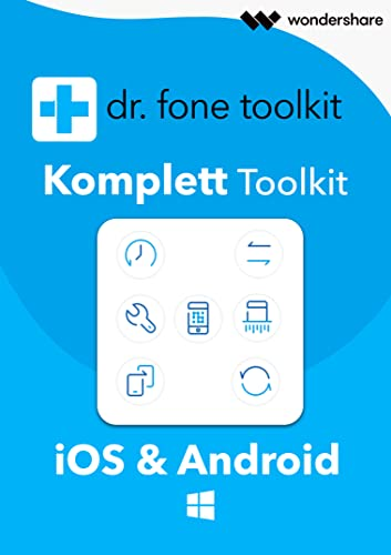 Wondershare dr.fone - Komplett Toolkit für PC - 2018 [Download]