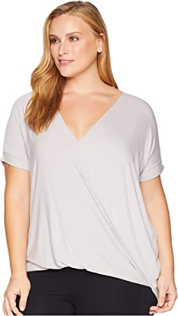 Plus Size Taylor Cross-Front Top
