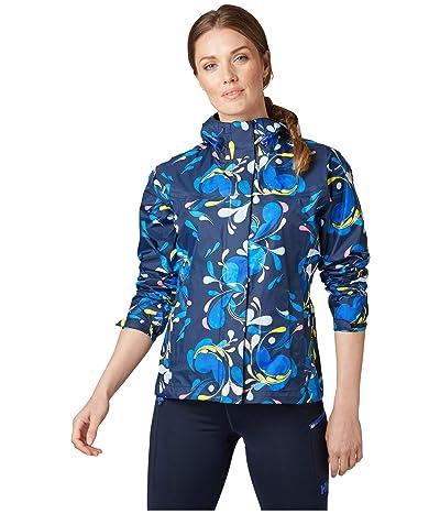 Helly Hansen Loke Jacket (Sling Navy Print) Women