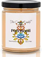 Patchouli Scented Candle - Inscense- 6 Ounce Jar Candle- Hand Poured in Indiana