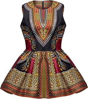 Women African Print Shirt Dashiki Traditional Top