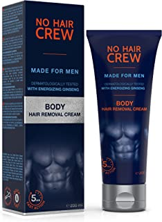 NO HAIR CREW Premium Body Hair Removal Cream – Depilatory