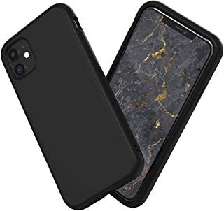 RhinoShield iPhone 11 SolidSuitケース - 3.5mの落下衝撃からも保護 衝撃吸収 スリム設計 耐衝撃保護カバー 薄型軽量 マット加工でスタイリッシュなデザイン - クラシックブラック